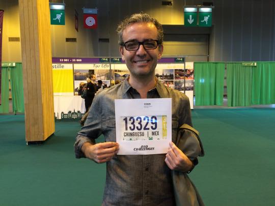 Las horas perdidas (mi maratón de París).